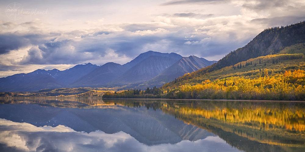 Dezadeash Lake, Yukon - Across the Blue Planet