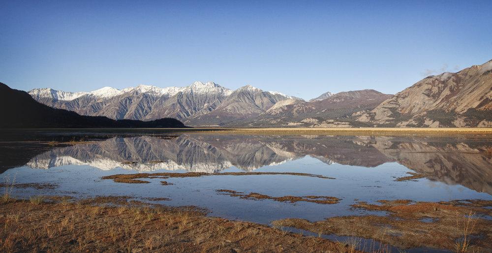 Sheep Mountain Reflections, Yukon - Across the Blue Planet