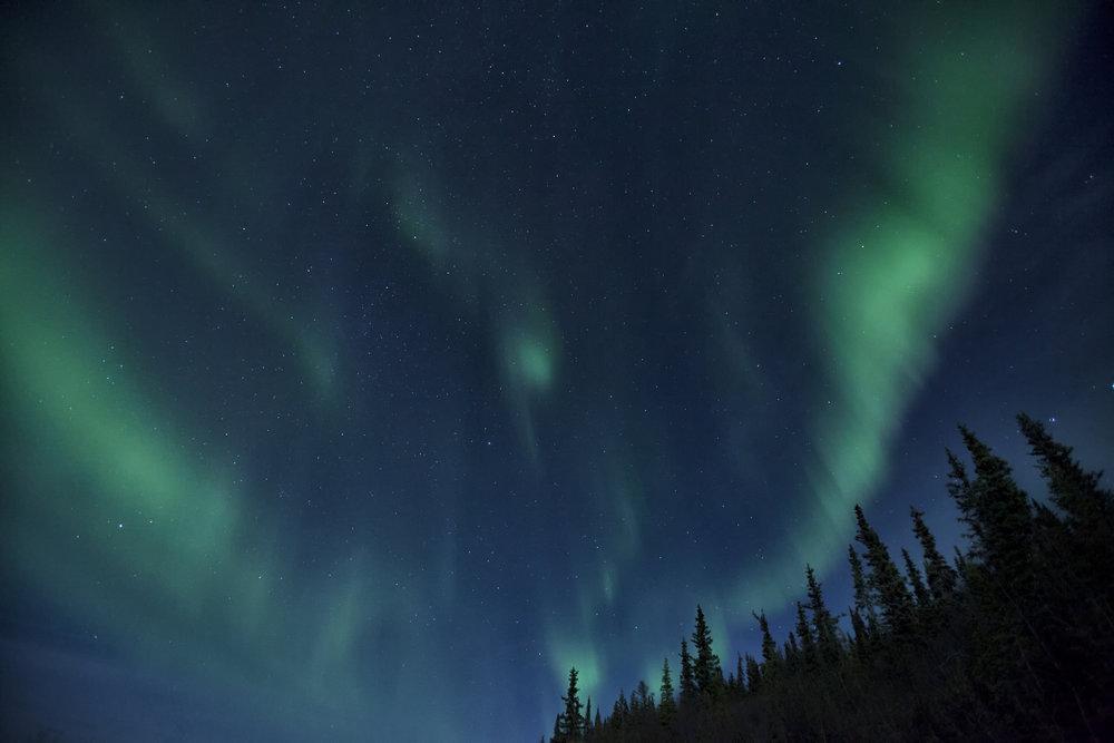 Aurora Borealis in Yukon - Across the Blue Planet