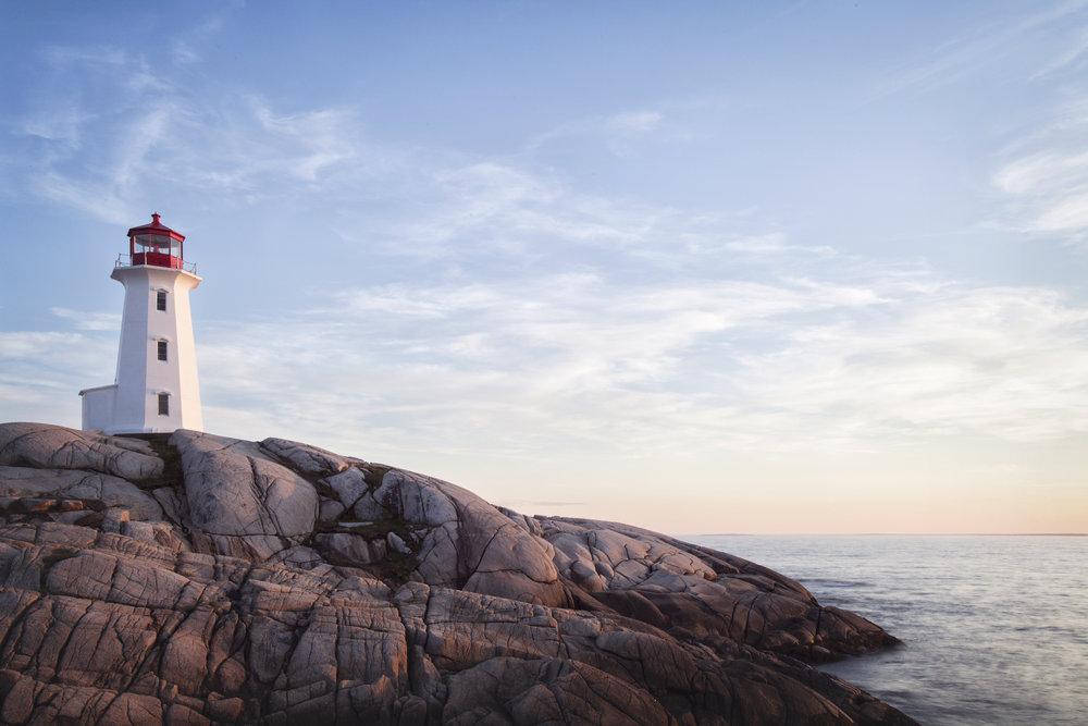 Peggys Cove, Nova Scotia - Across the Blue Planet
