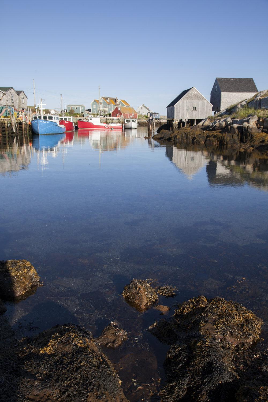 Peggy's Cove Village - Across the Blue Planet