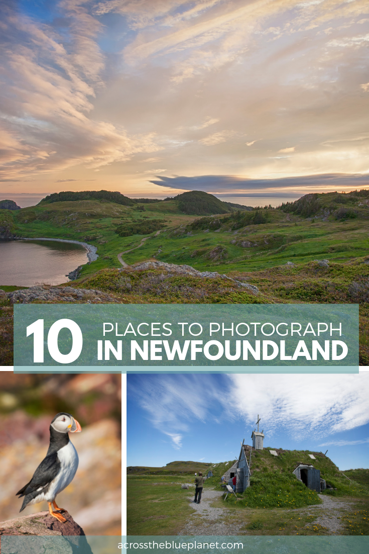 10 Places to Photograph in Newfoundland