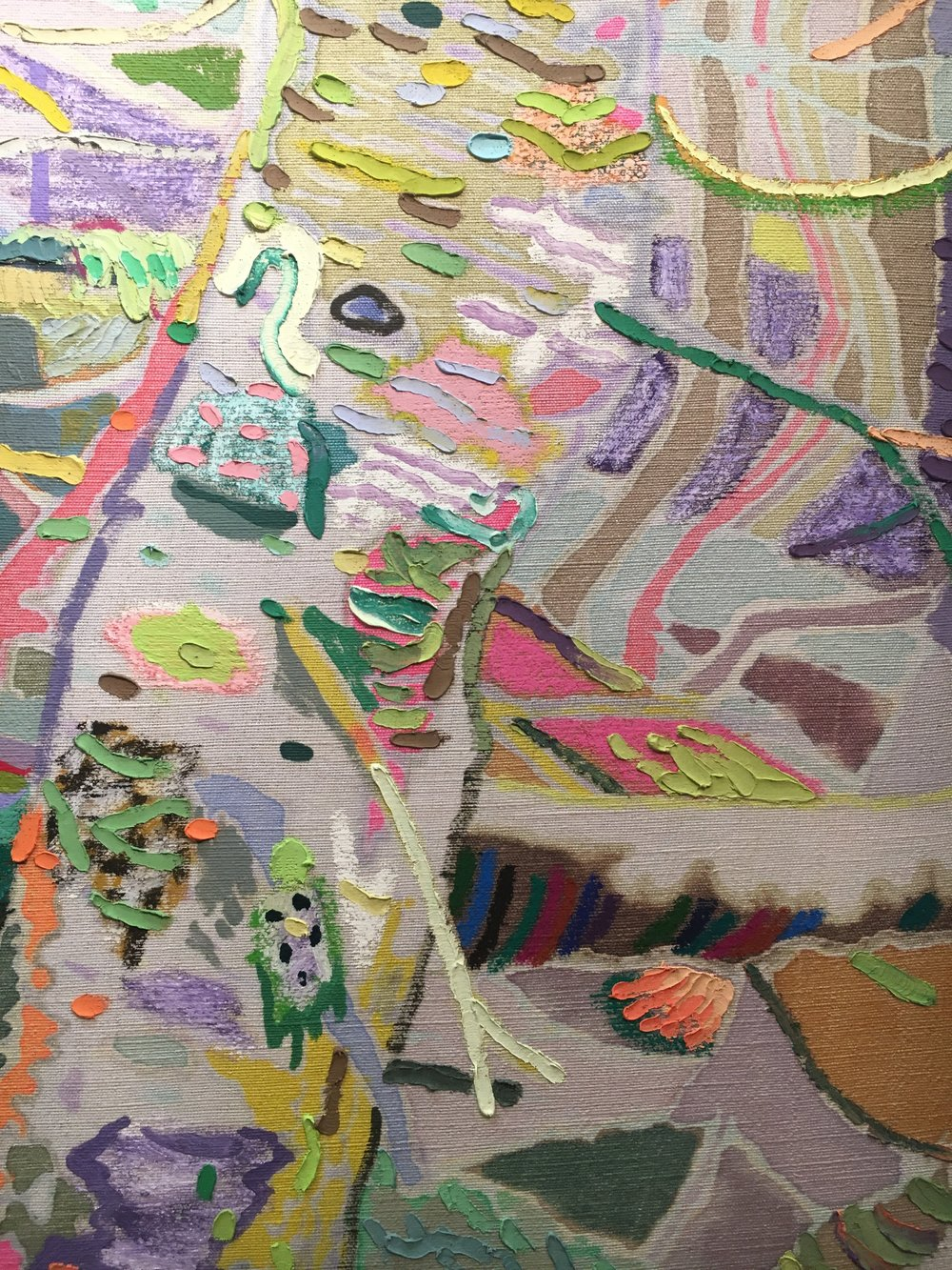 Leon Benn Painting Detail
