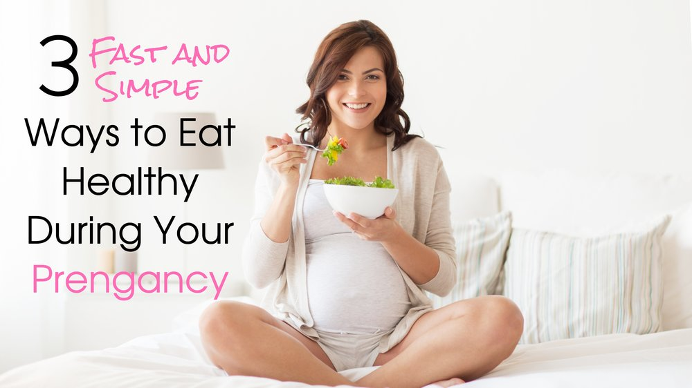 Healthy Eating During Pregnancy - 5MinuteBack Pregnancy