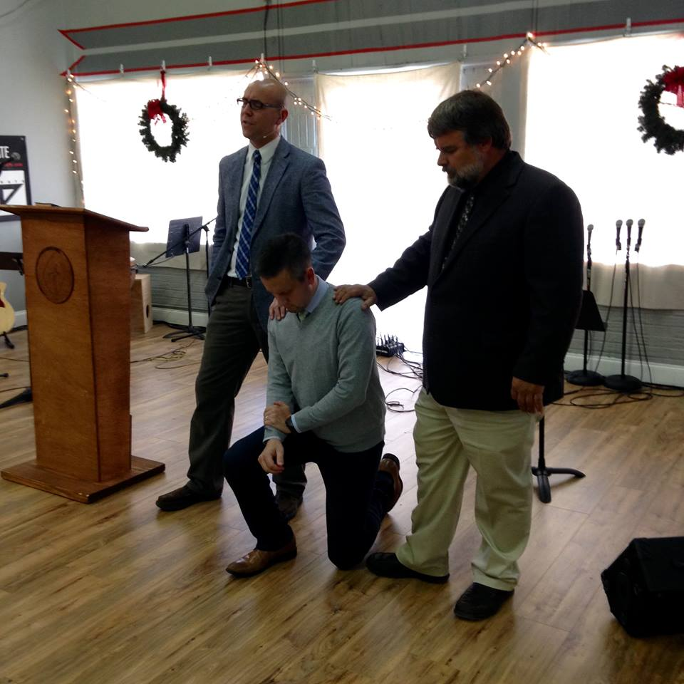 LHBC's third elder, Ryan Allen, was ordained December 2016