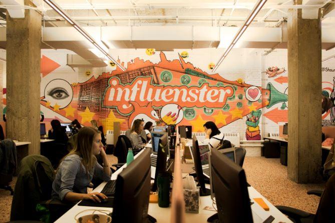 INFLUENSTER HQ 435 HUDSON, 2017     WORK DESIGN MAGAZINE    ONOFFICE MAGAZINE