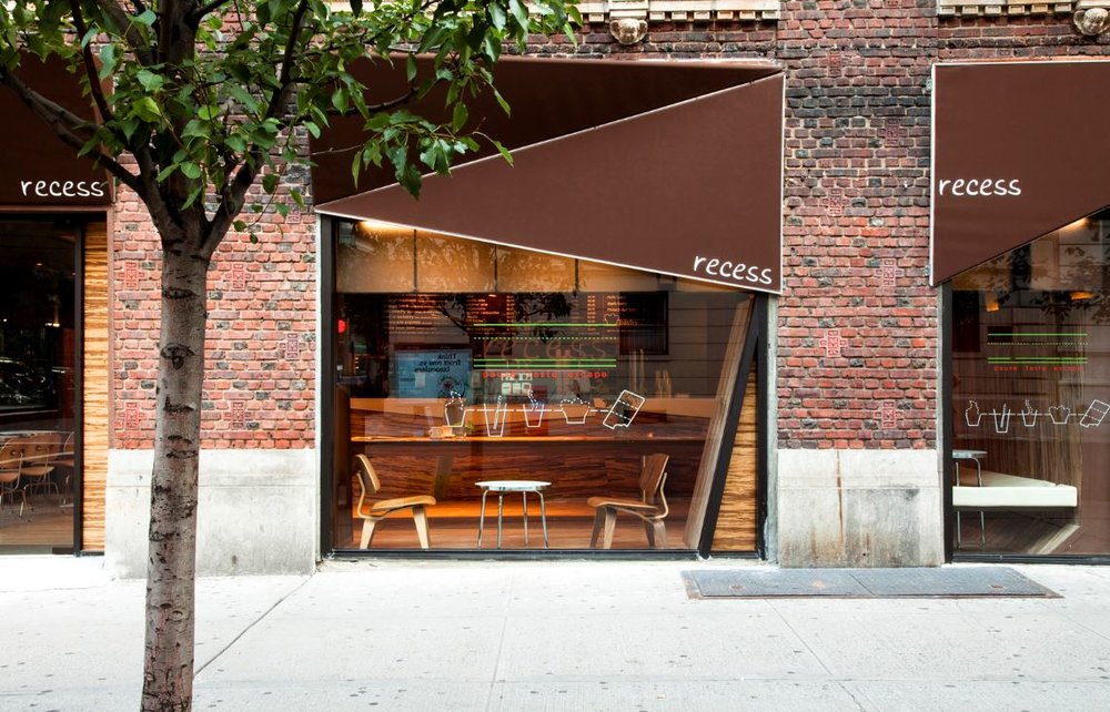 RECESS CAFE, 2009     ARCHPAPER