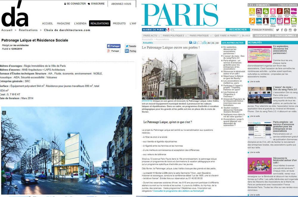 D'A / MAIRIE DE PARIS