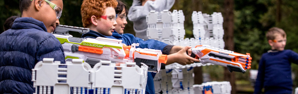 Nerf shoot-out