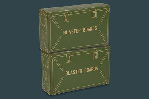BLASTER BOARDS -  2 PACK