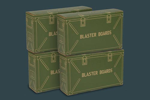BLASTER BOARDS -  4 PACK