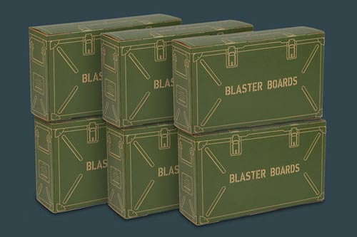 BLASTER BOARDS -  6 PACK
