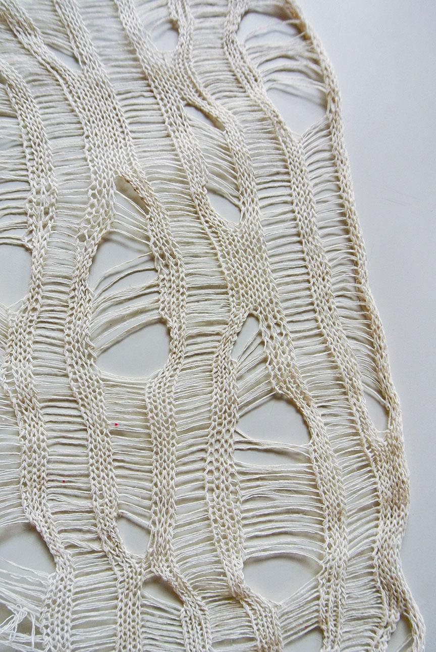 Stiffened Lace