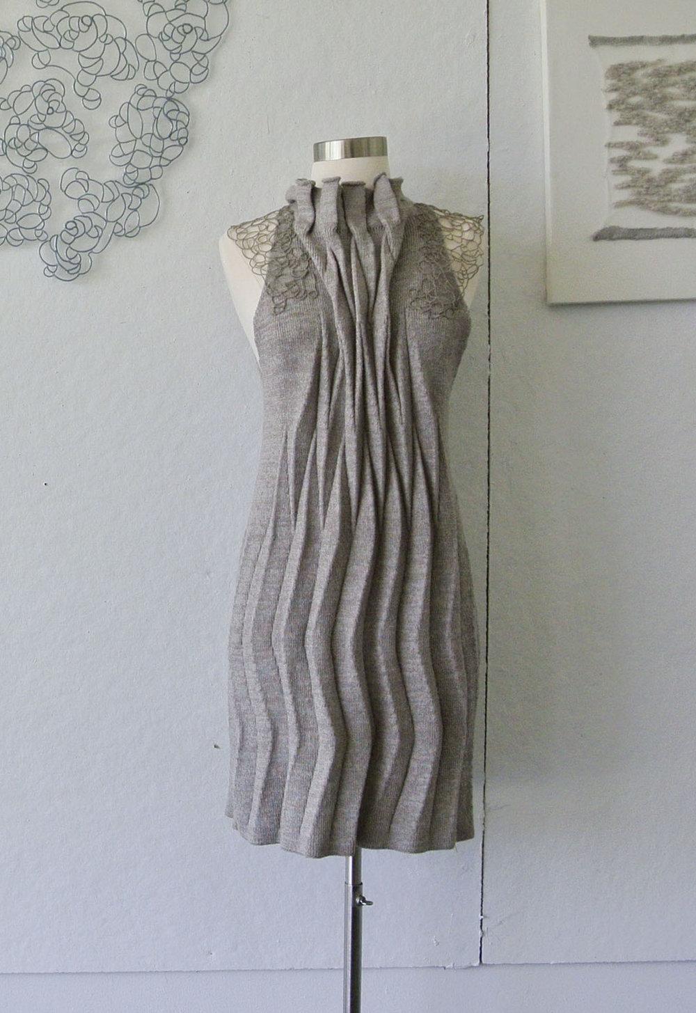 pleat dress on form.jpg