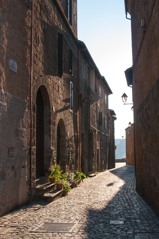 Orvieto Winding Streets