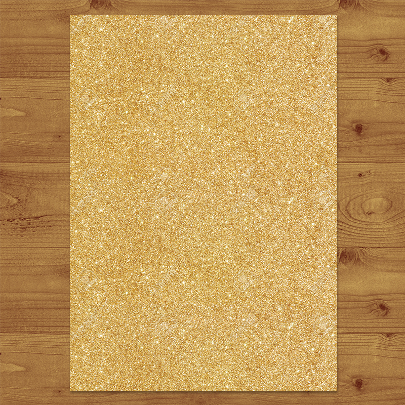 GLITTER GOLD Wedding Invitation Hawthorne and Ivory