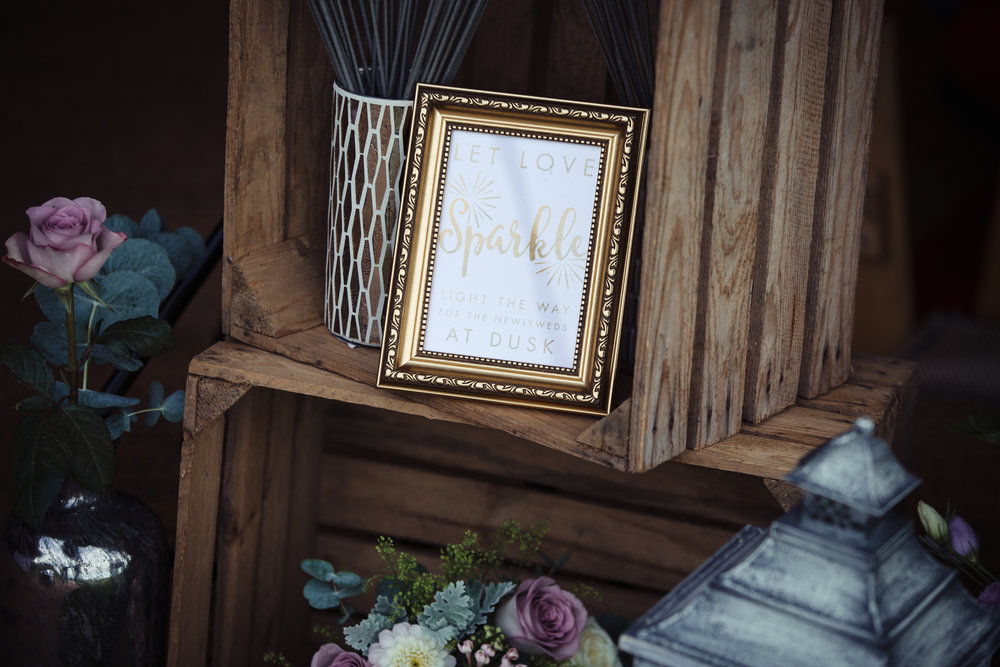bespoke wedding stationery design tipi sparkler send off