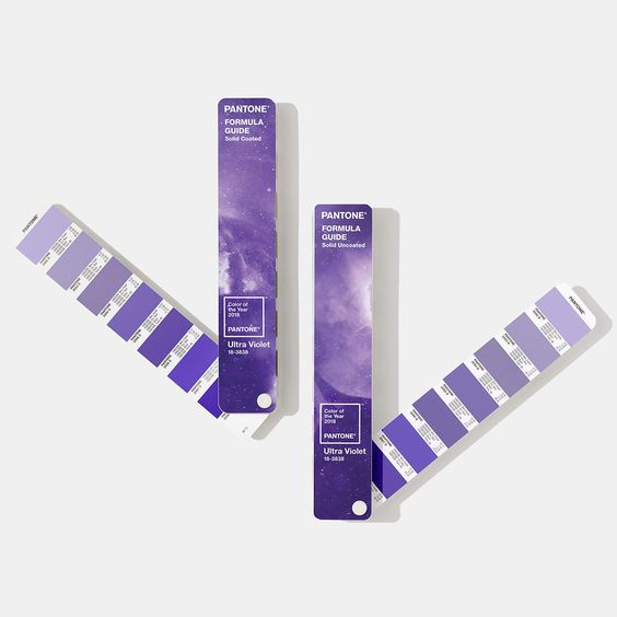 pantone ultra violet color of the year swatchbooks
