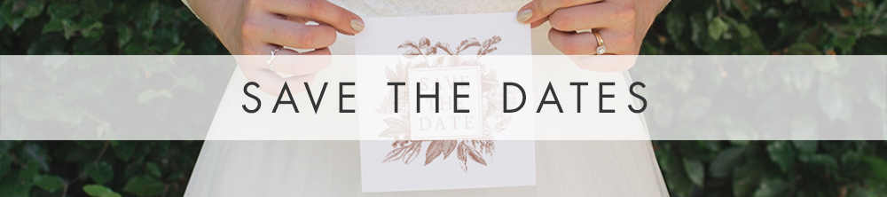 Nude Classic Save The Date - vintage beige neutral floral wedding stationery suite uk - Hawthorne and Ivory