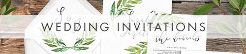 Olive Branch Invitation - greenery watercolour leaf greek wedding wedding stationery suite uk - Hawthorne and Ivory