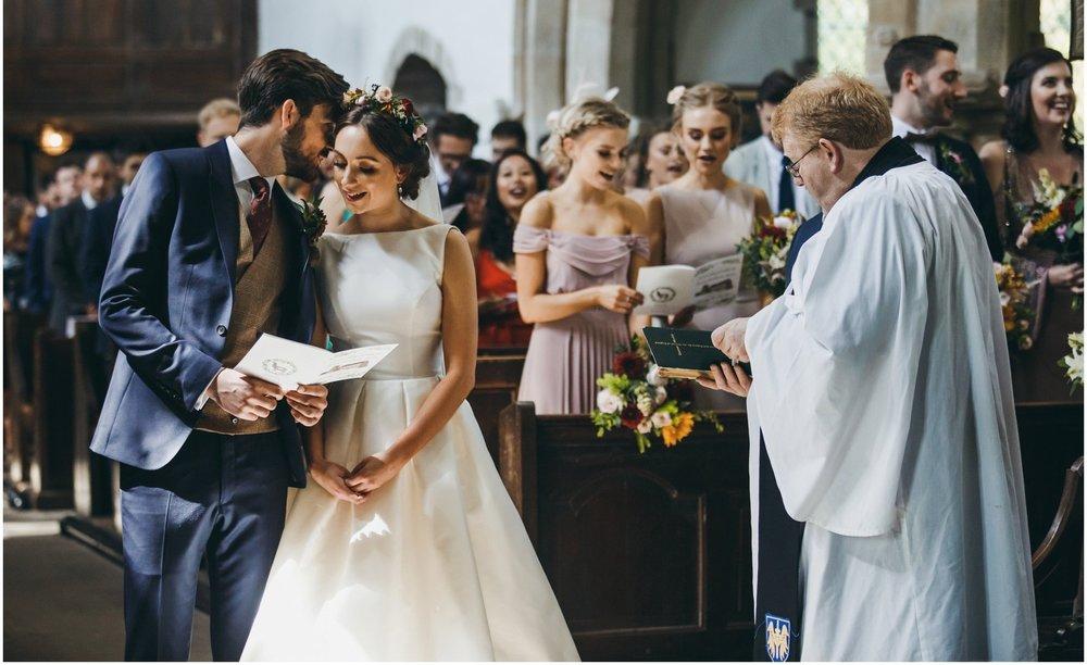bespoke design wedding order of service illustrated