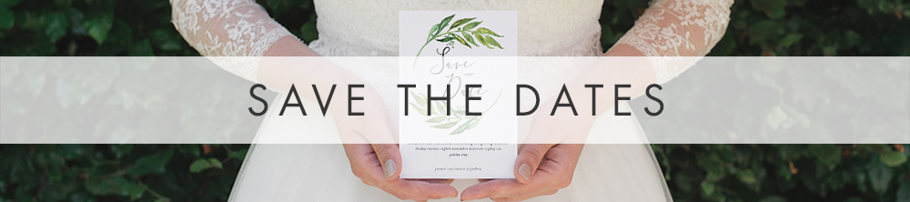Olive Branch Save The Date - greenery watercolour leaf greek wedding wedding stationery suite uk - Hawthorne and Ivory