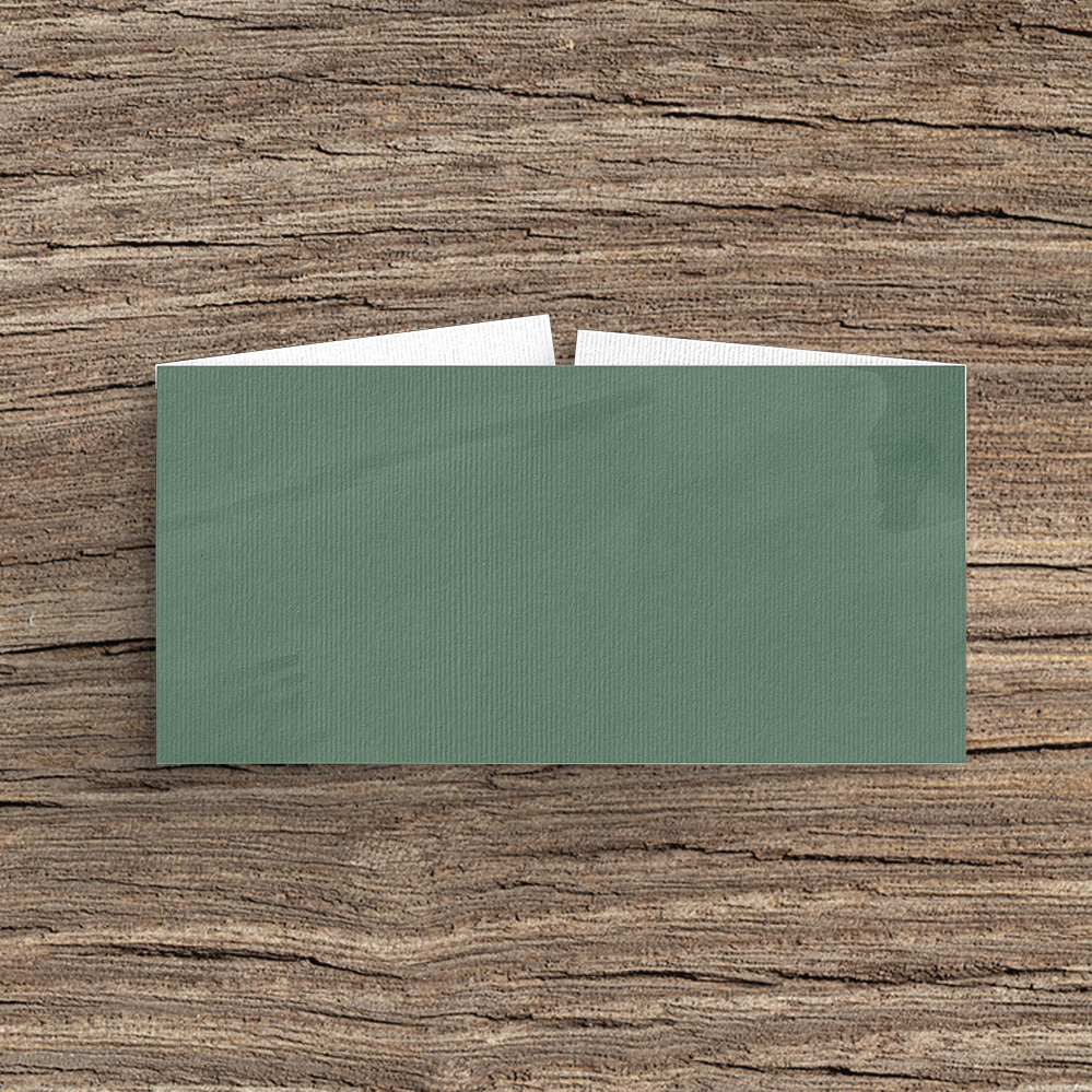 Elegant Sage Belly Band - sage green watercolour floral wedding stationery suite uk - Hawthorne and Ivory