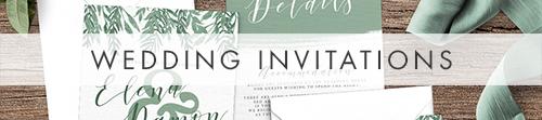 Elegant Sage Invitation - sage green watercolour floral wedding stationery suite uk - Hawthorne and Ivory