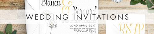 Yellow Daisy Invitation - lemon floral simple modern wedding stationery suite uk - Hawthorne and Ivory