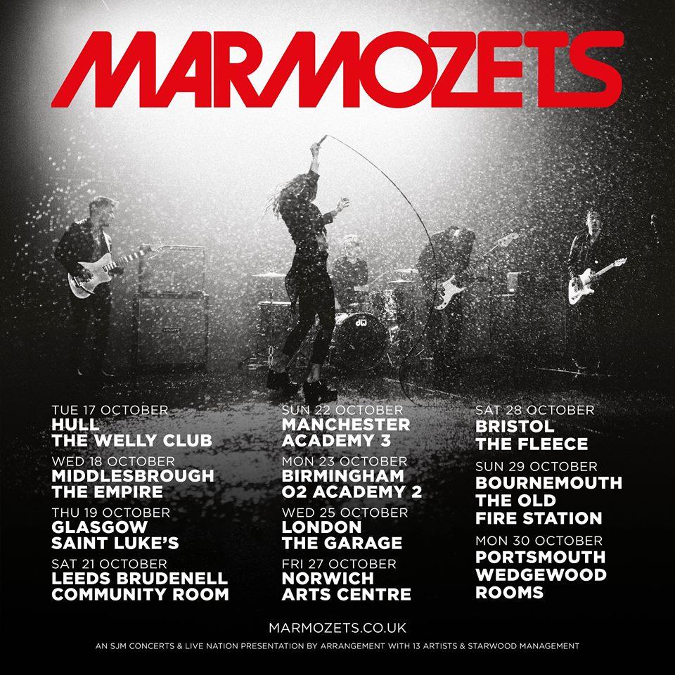 Marmozets Tour Poster