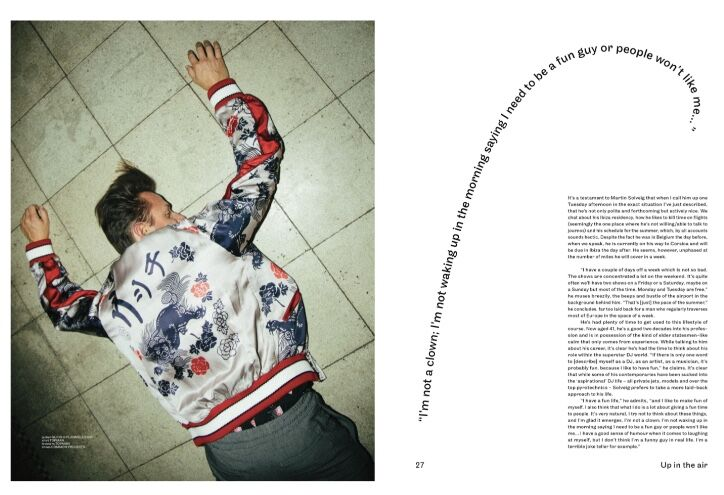 Martin Solveig -  Notion Magazine