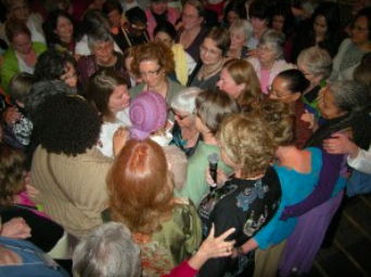A beautiful moment at one of our WSF gatherings