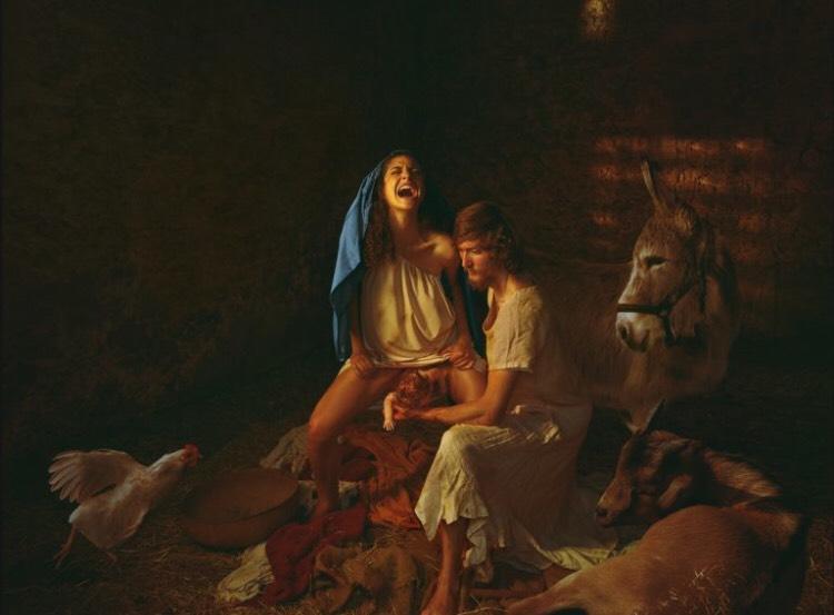 "Artwork: ""The Creation of Man"" by Natalie Lennard"