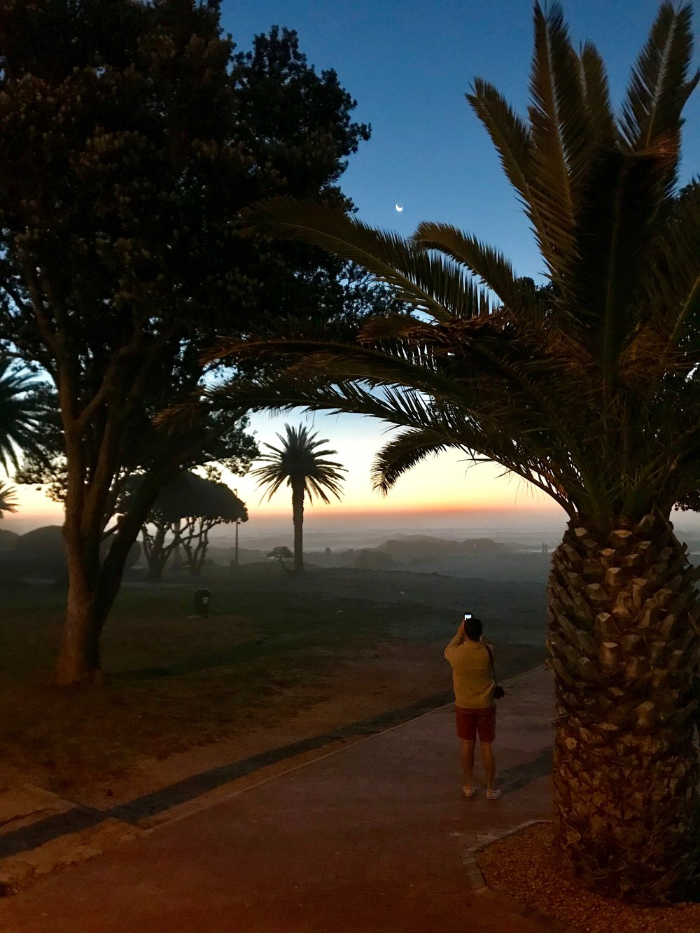 Sundown view Camps Bay