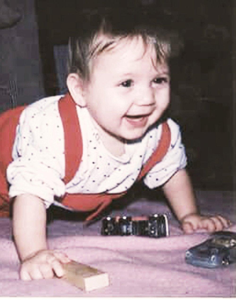 THEN:  Sara as a baby