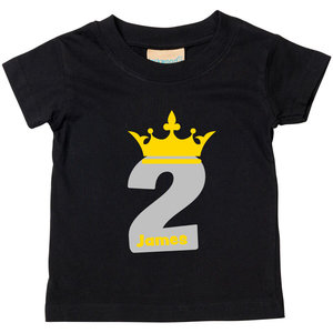2nd Birthday The Wee T Shirt Company