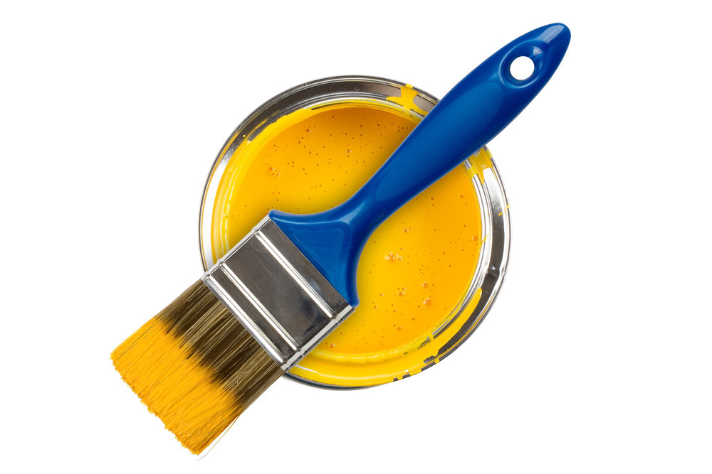 paint and paint brush