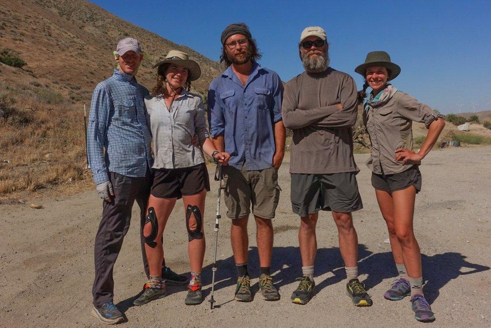 Utah Aaron, Kim (now Ya Ya), Cosmo, Ed, Me