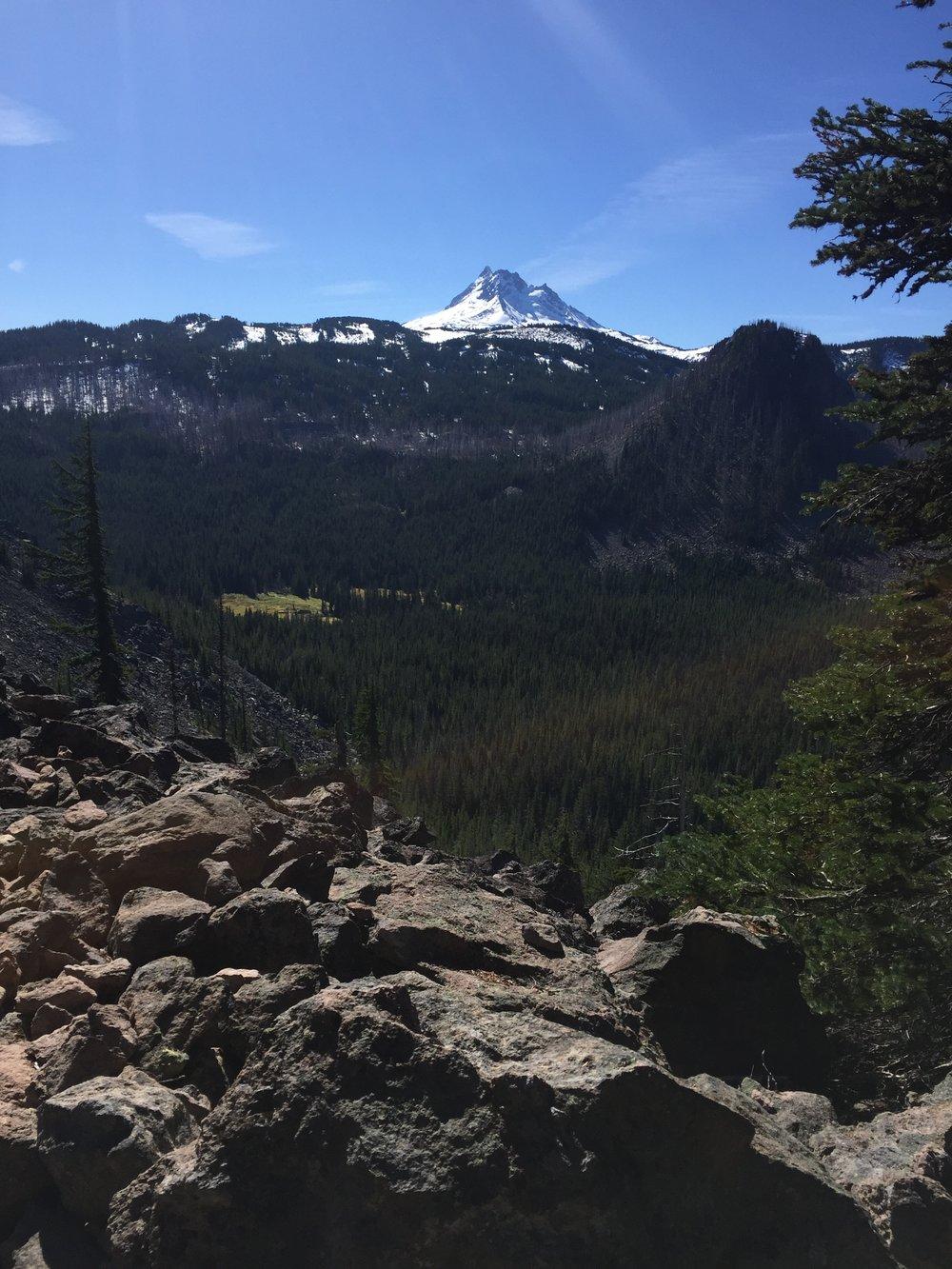 View of Mt. Jefferson
