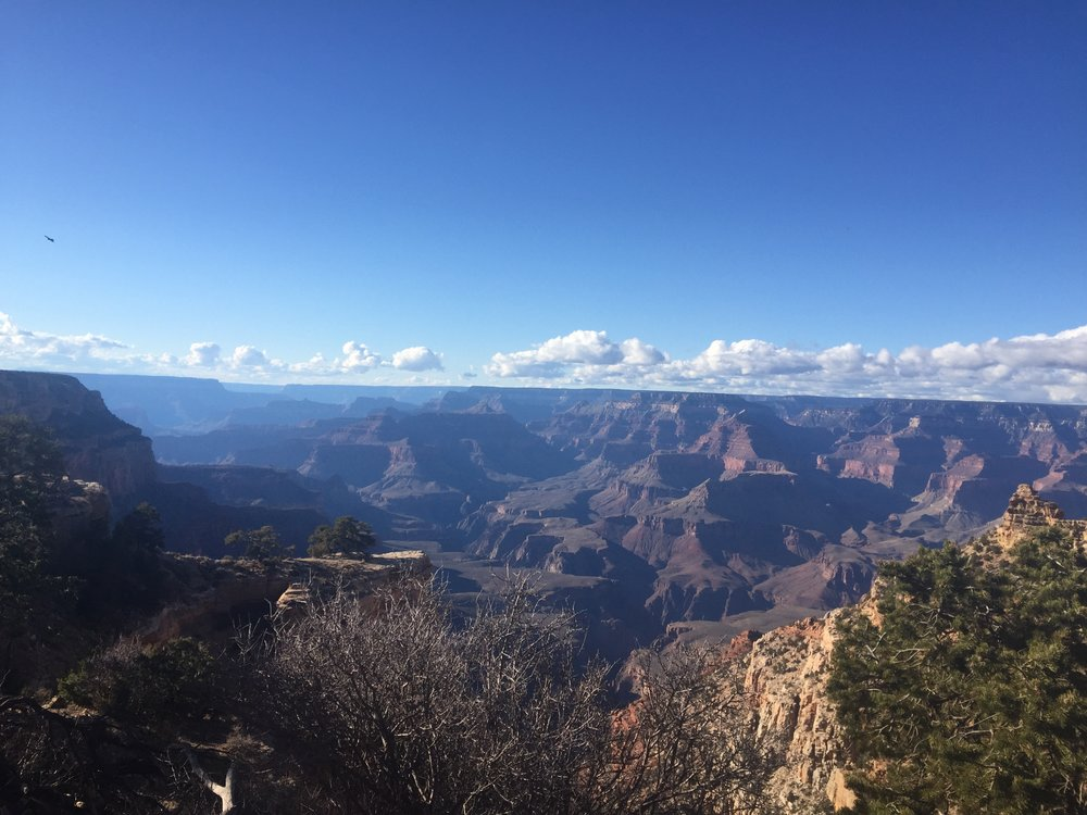 First view over the canyon