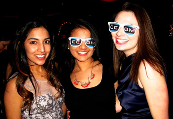 Marysia (far right) with two of her best friends in medical school, Trisha Patel (far left), Nehal Parikh (middle). She couldn't have done the first two years without the support of their friend group.