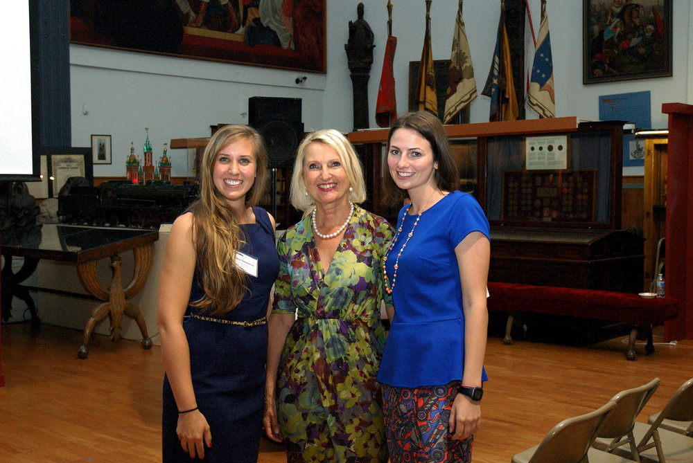 SPAPP co-founders Joanna (left) and Marysia (right) pose for a photo with Dr. Maria Siemionow, keynote speaker.