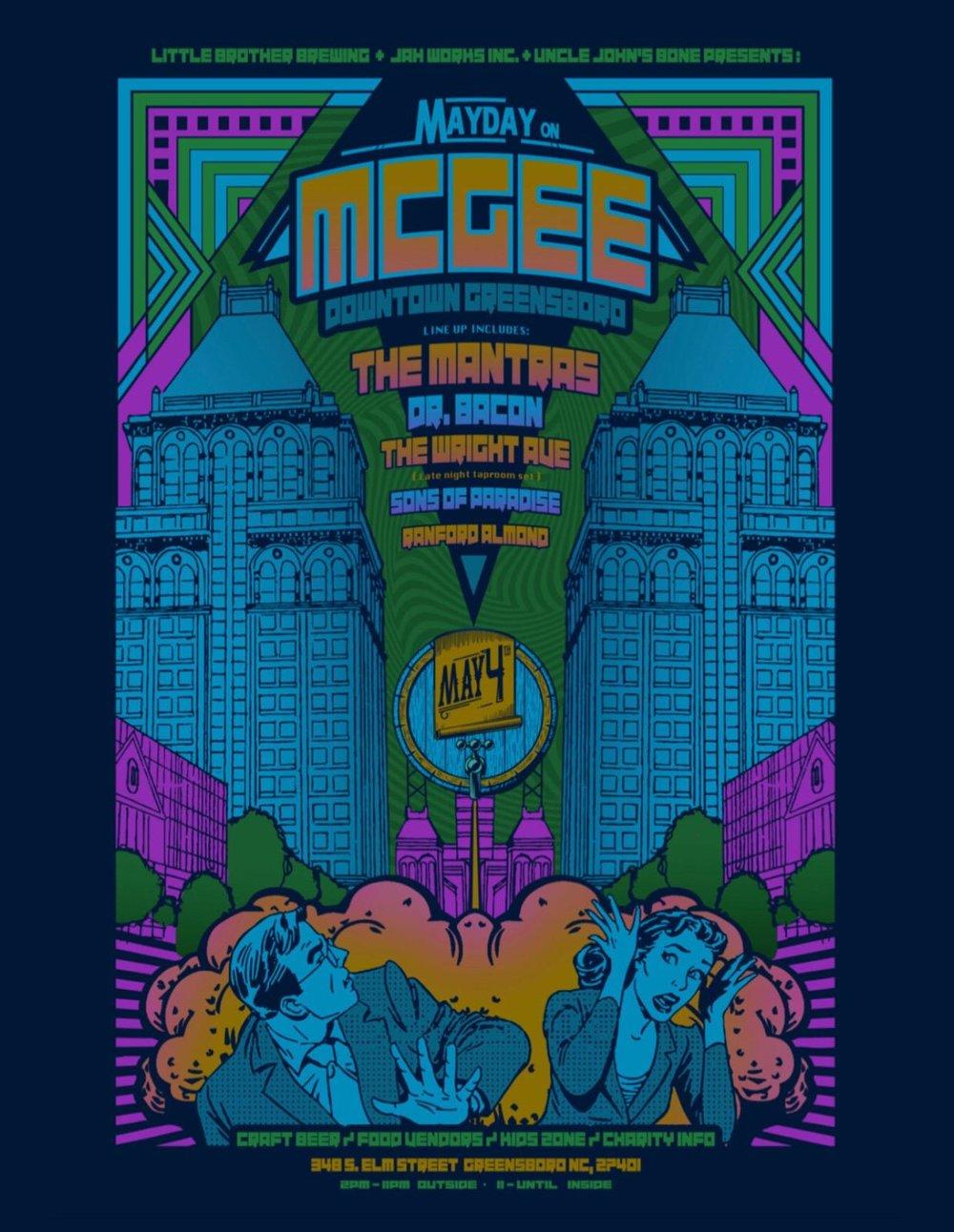 MayDay on McGee Street 2018