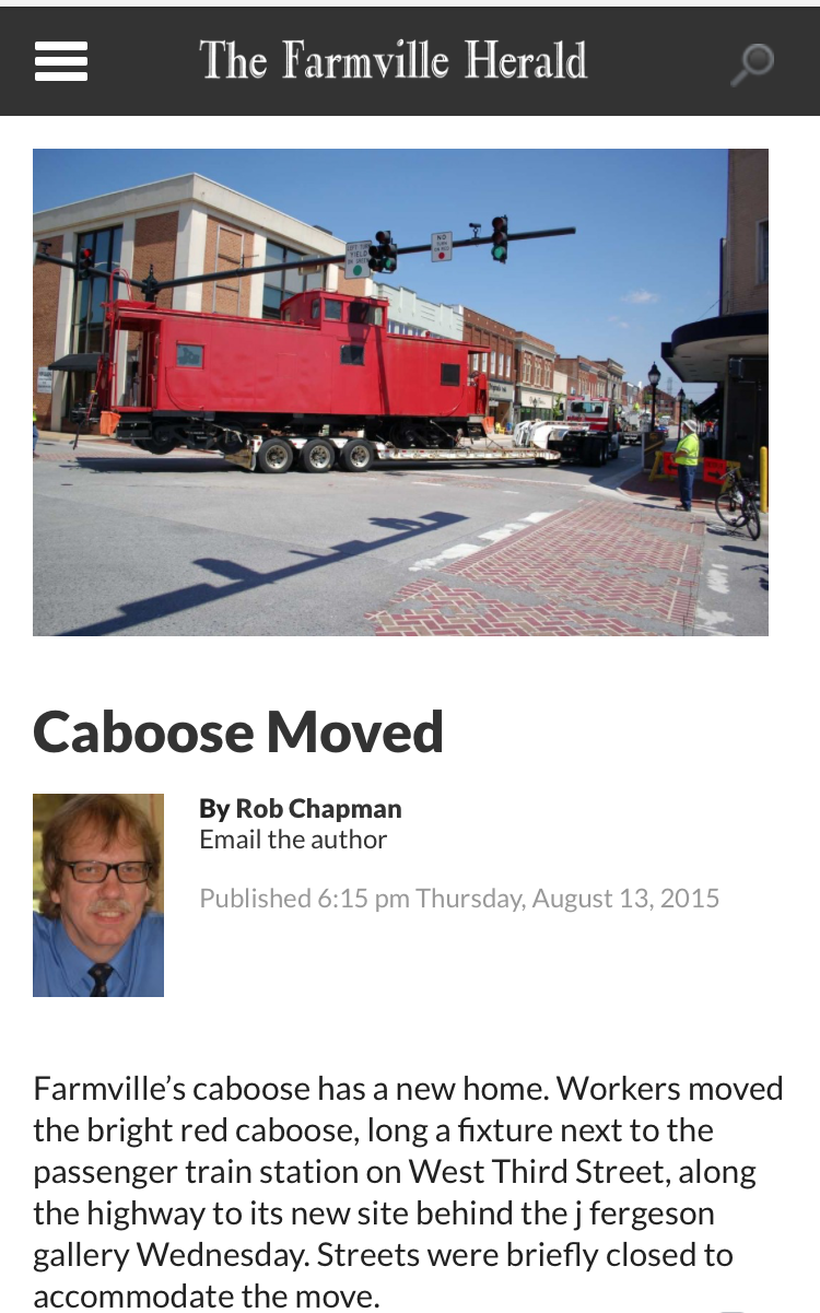 """Caboose Moved"""