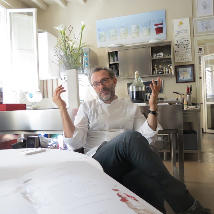 wholesale dealer 0a2f3 b34d0 Hot Pockets  Conversation with Massimo Bottura, Superstar Intellectual  Italian Chef