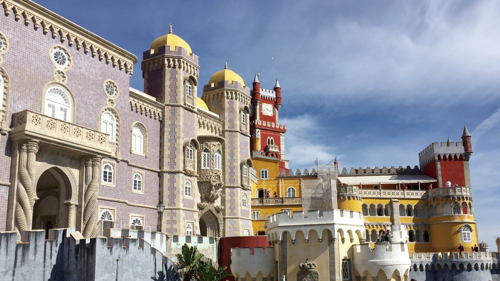 Sintra's Palace Of Pena,  Photo Credit: Erica Firpo