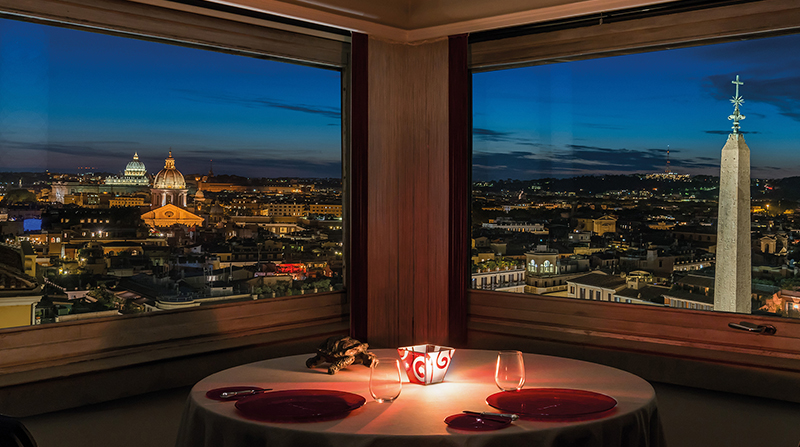 4 Rome Restaurants With Remarkable Views Ciao Bella