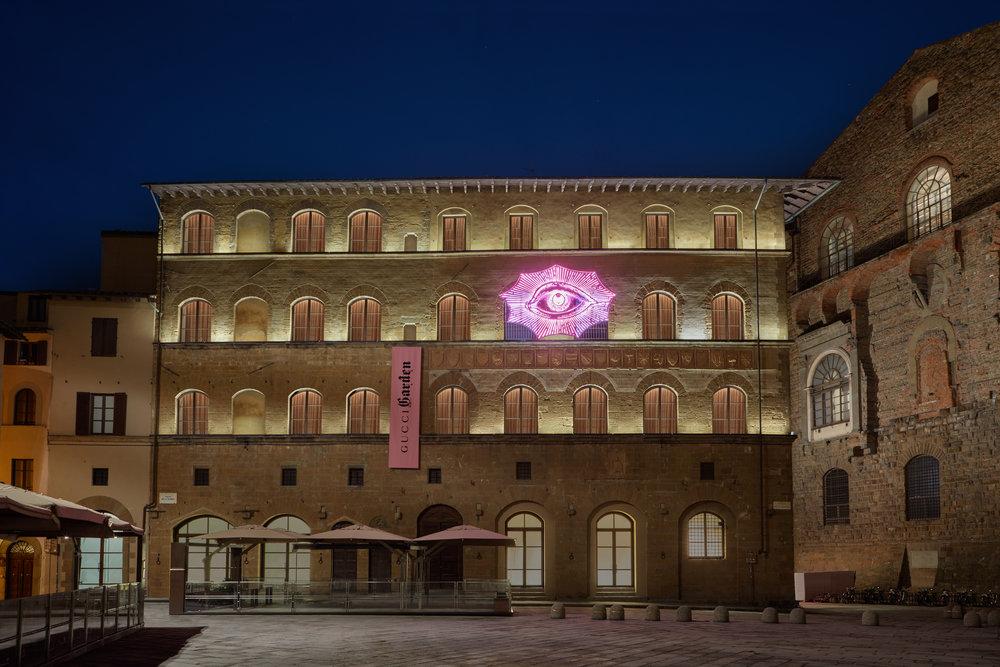 Gucci Garden by Florence's Palazzo della Signoria. Courtesy of Gucci.