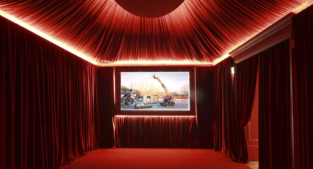 Did I mention there is a cinema? Courtesy of Gucci.