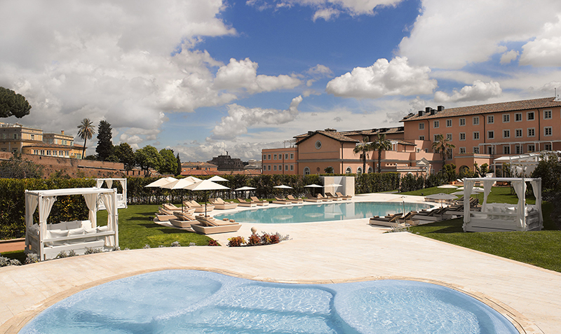 Grand Meliá Rome Villa Agrippina.  Credit: Grand Meliá Rome Villa Agrippina